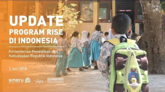Embedded thumbnail for RISE Programme in Indonesia Update